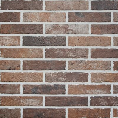 Rondine Brick Wall Tiles Old Red Brick 6x25 Cm J85886 Casa39 Com