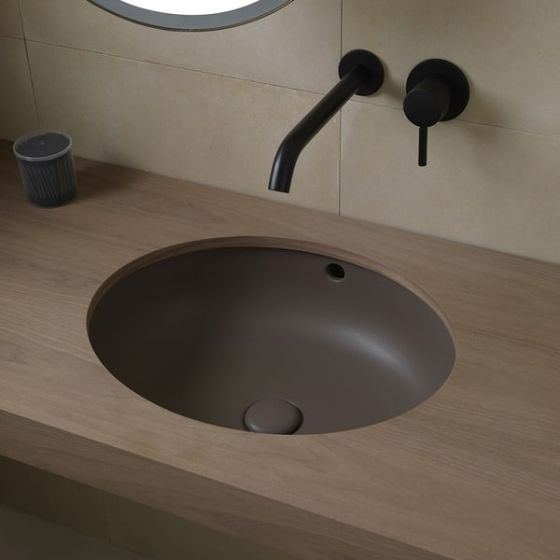 Cielo Enjoy Oval Undercounter Washbasin Casa39 Com