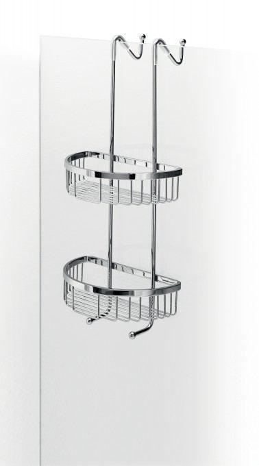 Lineabeta Filo Hanging Double Shower Basket 50031 29 Casa39 Com